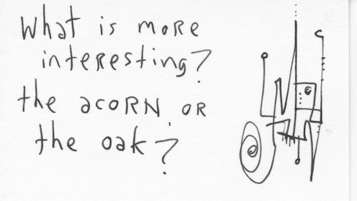 Acorn or oak